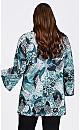 Plus Size Gianna Tunic - blue