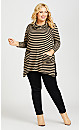 Plus Size Ana Tunic - camel