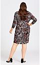 Plus Size Wren Print Dress - animal
