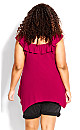 Plus Size Serena Tunic - orchid pink