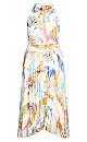 Retro Storm Dress - ivory
