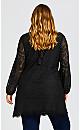 Plus Size Jocelyn Tunic - black