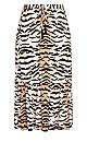 Tigress Skirt - tiger print