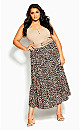 Prowess Skirt - leopard