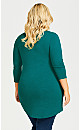 Plus Size Marion Tunic - teal