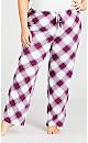 Plus Size Weekend Sleep Set - pink