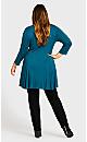Plus Size Fashion Skinny Jean Black - average