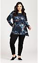 Plus Size Fashion Skinny Jean Black - petite
