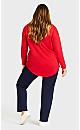 Plus Size Active Pocket Pant Navy - average