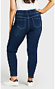 Plus Size Butter Denim Pull-On Jean Mid Wash - tall