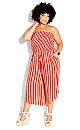 Summer Stripe Jumpsuit - tigerlily