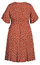 Lover Spot Dress - toffee