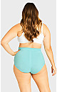 Plus Size Fashion Seamless Full Brief - peppermint