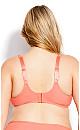 Plus Size Fashion Smooth Caress Bra - soft peach
