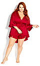 Ethereal Sleep Robe - scarlet