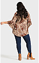 Plus Size Mulberry Top - ivory