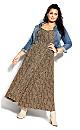 Luxe Animal Maxi Dress - leopard