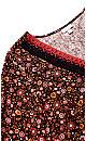 Plus Size Hallie Crochet Trim Top tangerine