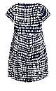 Plus Size Siera Midi Dress - navy