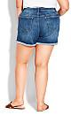 Plus Size Cute Denim Short -