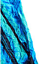 Eloise Blue Stripe Crinkle Top
