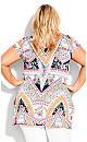 Plus Size Hallie Split Tunic -