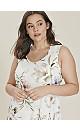**Grace Ivory Floral Maxi Dress