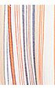 Plus Size Caribbean Print Maxi - orange