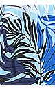 Plus Size Bamboo Sharkbite Tankini - blue