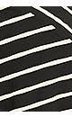 Plus Size Shirtail Knit Dress - black