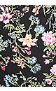 Plus Size Super Stretch Floral Capri - floral