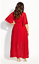 Enthral Me Maxi Dress - love red