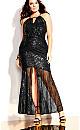 Brilliance Maxi Dress - black