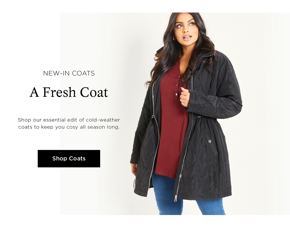 Shop New In Coats - Prices As Marked