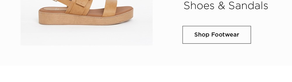 30% Off* All Shoes - Prices as Marked