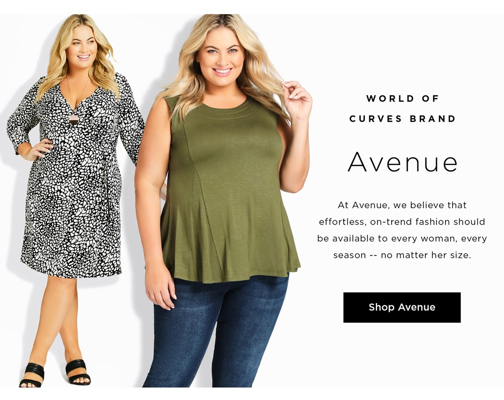 World of Curves Brand - Avenue
